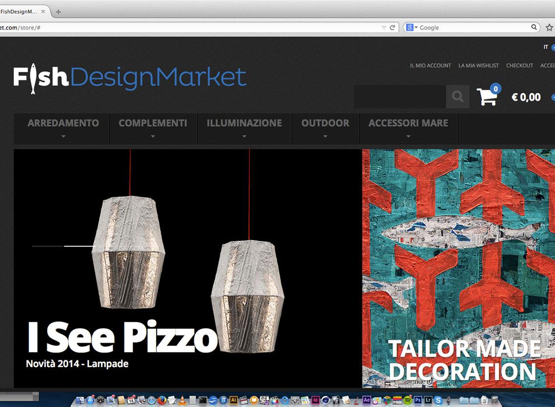 fish design market, giovanni pesce, online store, nodecode, gianfranco maiullari, architettura, design